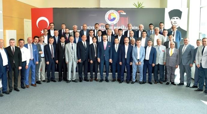 Başkan Bilgin,Doğu Anadolu ve Güneydoğu Anadolu Bölge Toplantısına Katıldı.