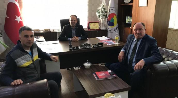 Vezirköprü Ticaret ve Sanayi Odası Yönetim Kurulu Başkanı Abdulkadir FİŞEKÇİ Odamızı Ziyaret Etti.