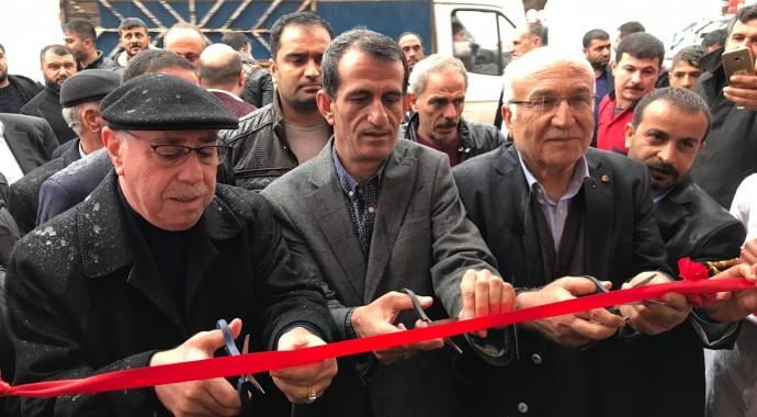 Başkan Sadettin BİLGİN, Şahane Et ve Balık Lokantasının Açılışına Katıldı.